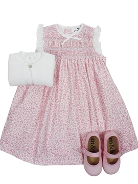 Paloma dress look in pink