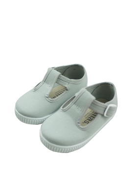 Pepito canvas in grey. Made in Spain