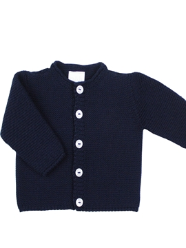 Navy blue buttons cardigan