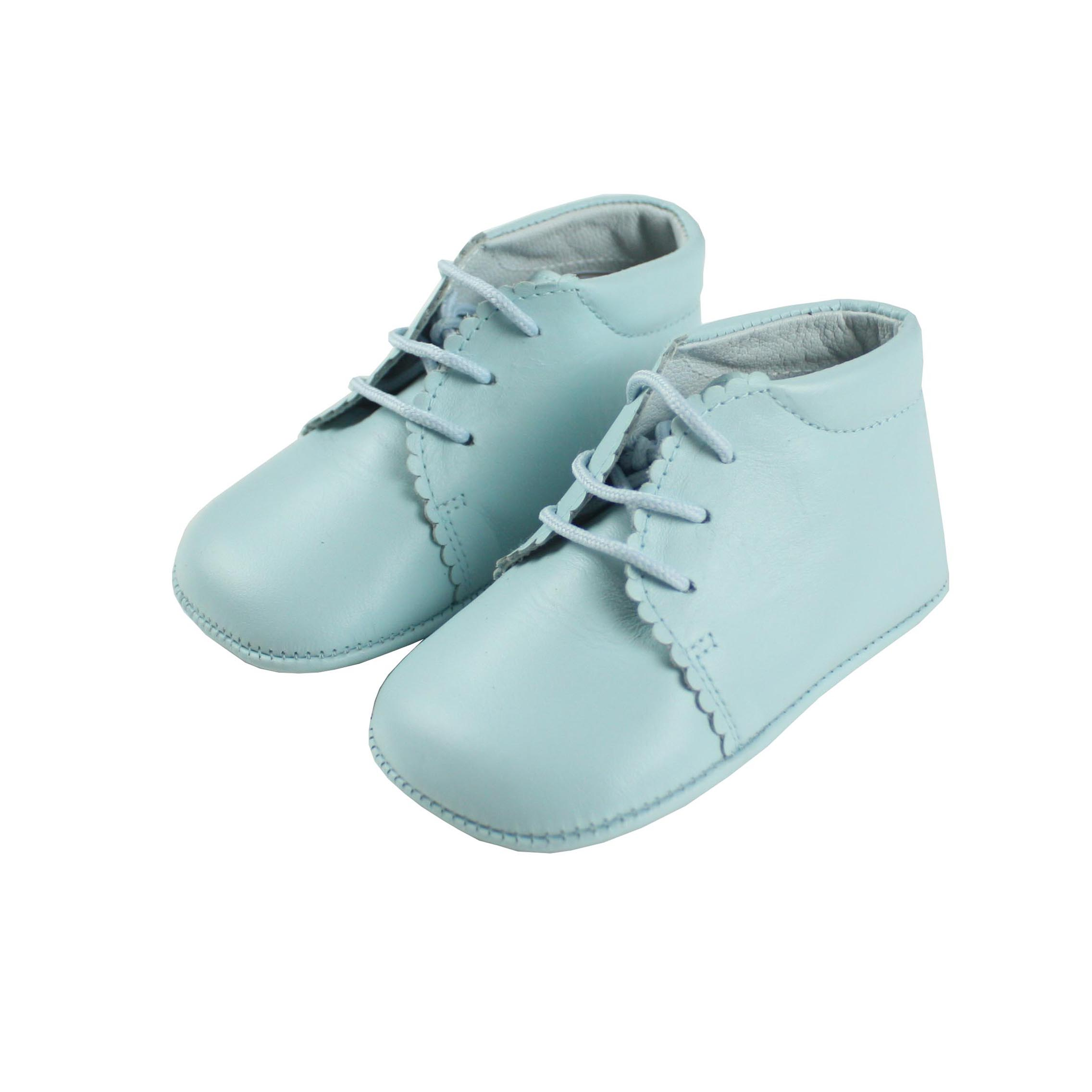 Baby pastel blue baby boots