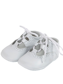 white baby leather shoes Wales open