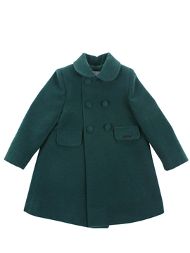Green coat girl
