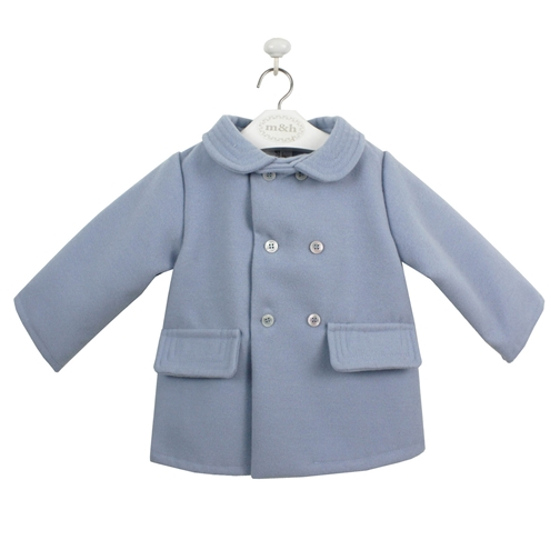 Blue cloth coat