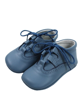 Medium Blue boot wales baby shoes