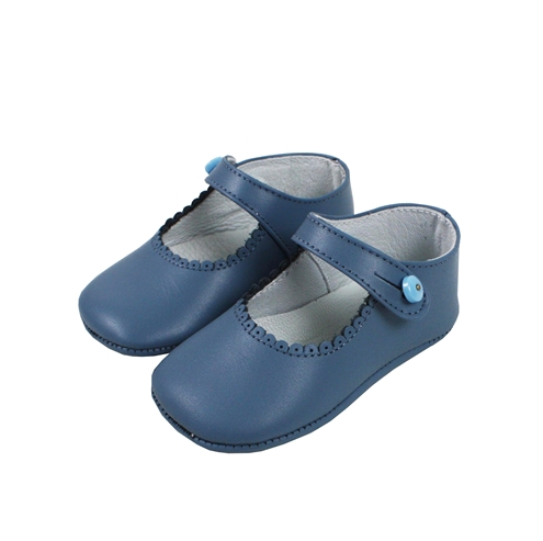 Medium Blue baby shoes mary jane model