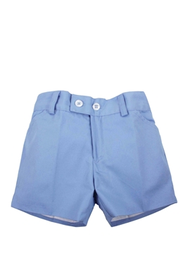 Medium blue bermuda toddler boy
