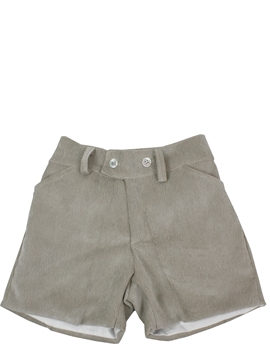 Toddler boy bermuda shorts sand corduroy