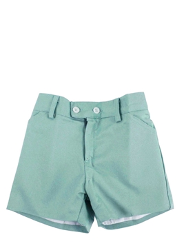 toddler boy short in green