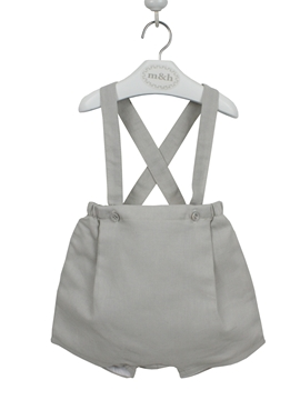 Bosco short braces grey