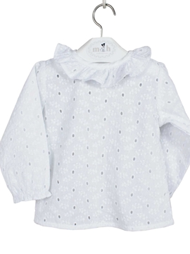 batiste blouse long sleeves