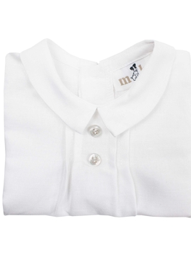 Bosco blouse white linen