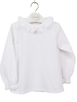 white sevilla blouse