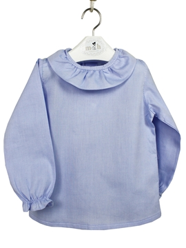 Blue baby blouse