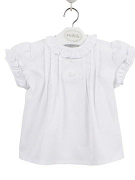 baby blouse white