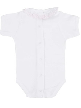 bodysuit batiste collar in pink