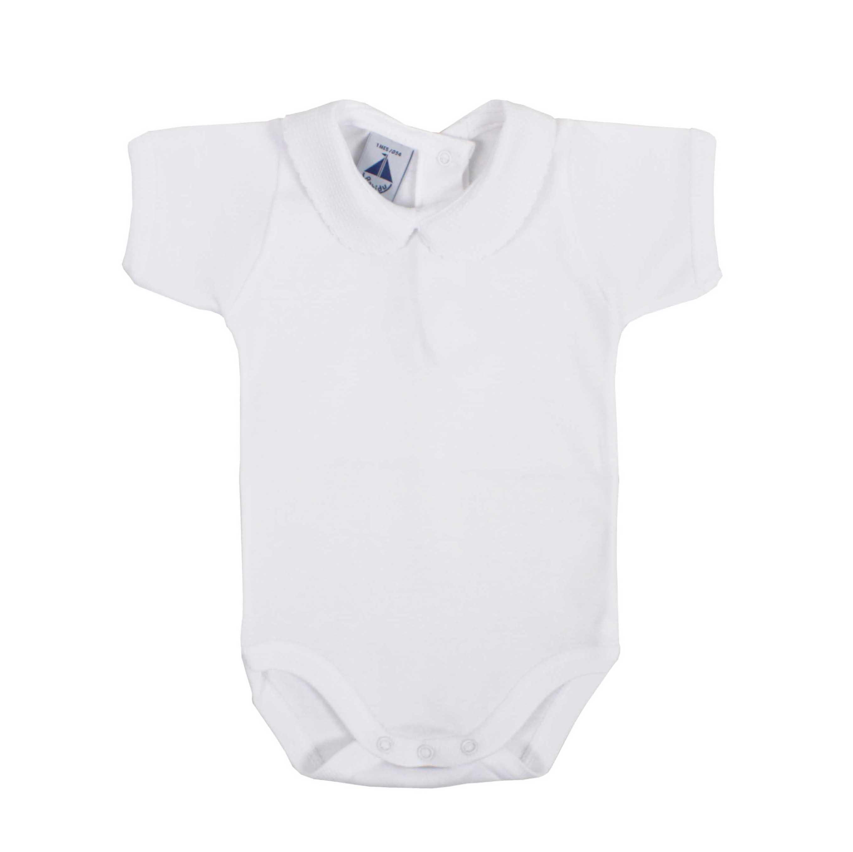 boys Babidu Baby White Bodysuit 24 months