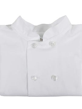 mao shirt white