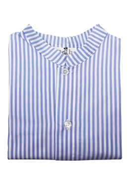 toddler boy shirt blue stripes