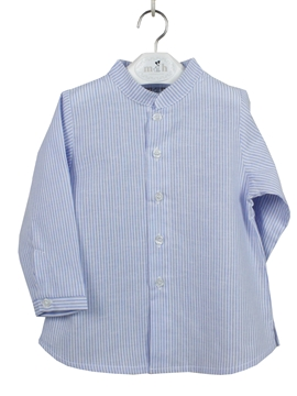 summer shirt blue stripes