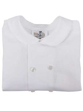 white linen shirt toddler boy