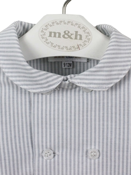 grey stripes shirt