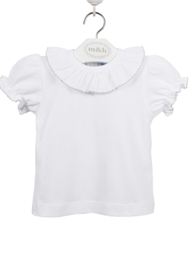 White cotton t shirt