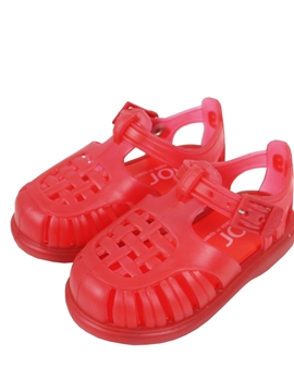 Red Tobby Sandal