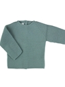 Aquarelle green knit baby sweater m&h