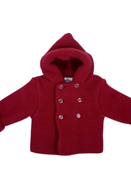 Burgundy short coat