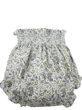 m&h baby bloomer blue flowers