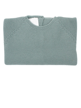 Aquarelle green thick knit sweater
