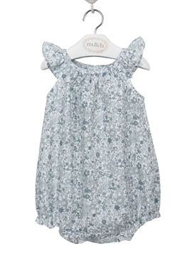 baby romper green liberty