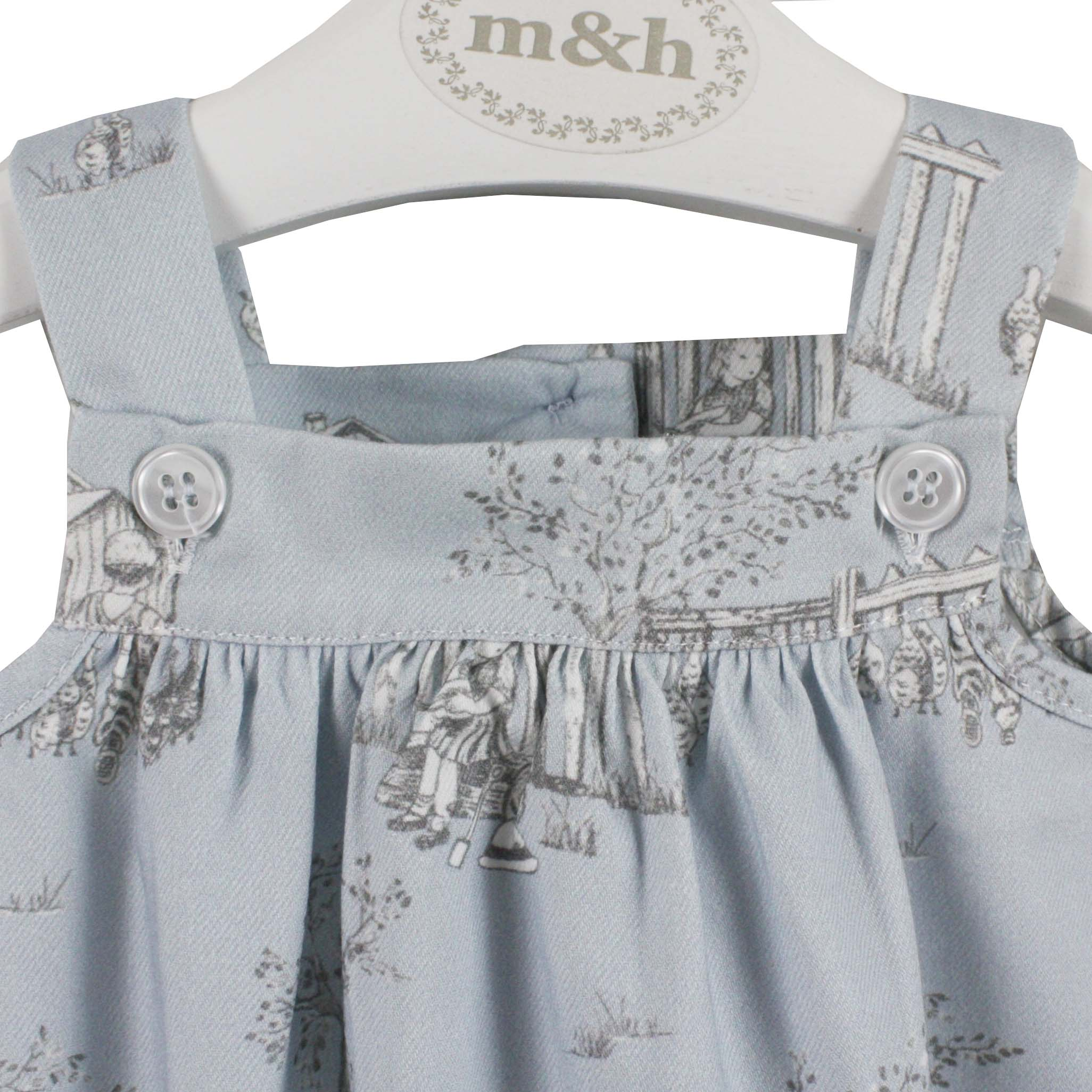 be17aa91a526 blue baby romper toile pattern · baby romper blue