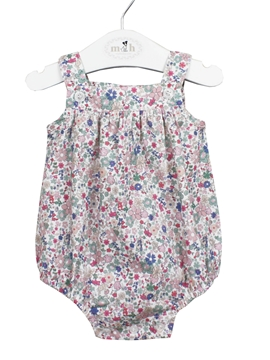 liberty colors baby romper