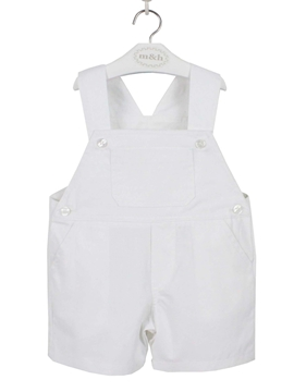 White short romper. Oscar model