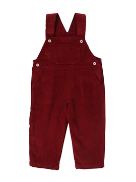long romper burgundy corduroy