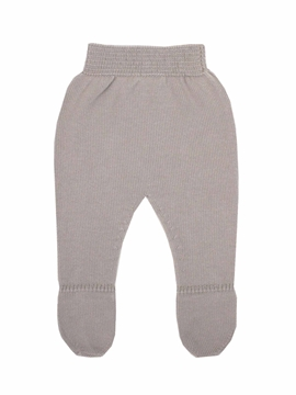 Beige knit leggings baby.