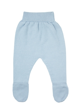 Baby blue Knit leggings baby