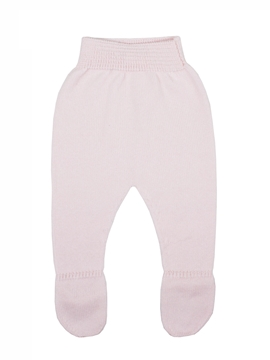 PInk knit leggings baby