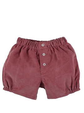 Girl short corduroy pink