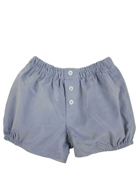 Storm blue corduroy short