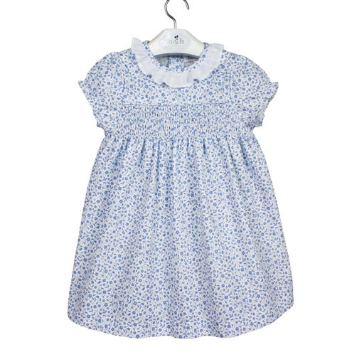 charlotte dress buen and white leaves