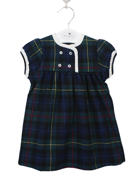 Scottish navy dress