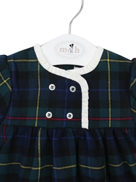 dress tartan blue green