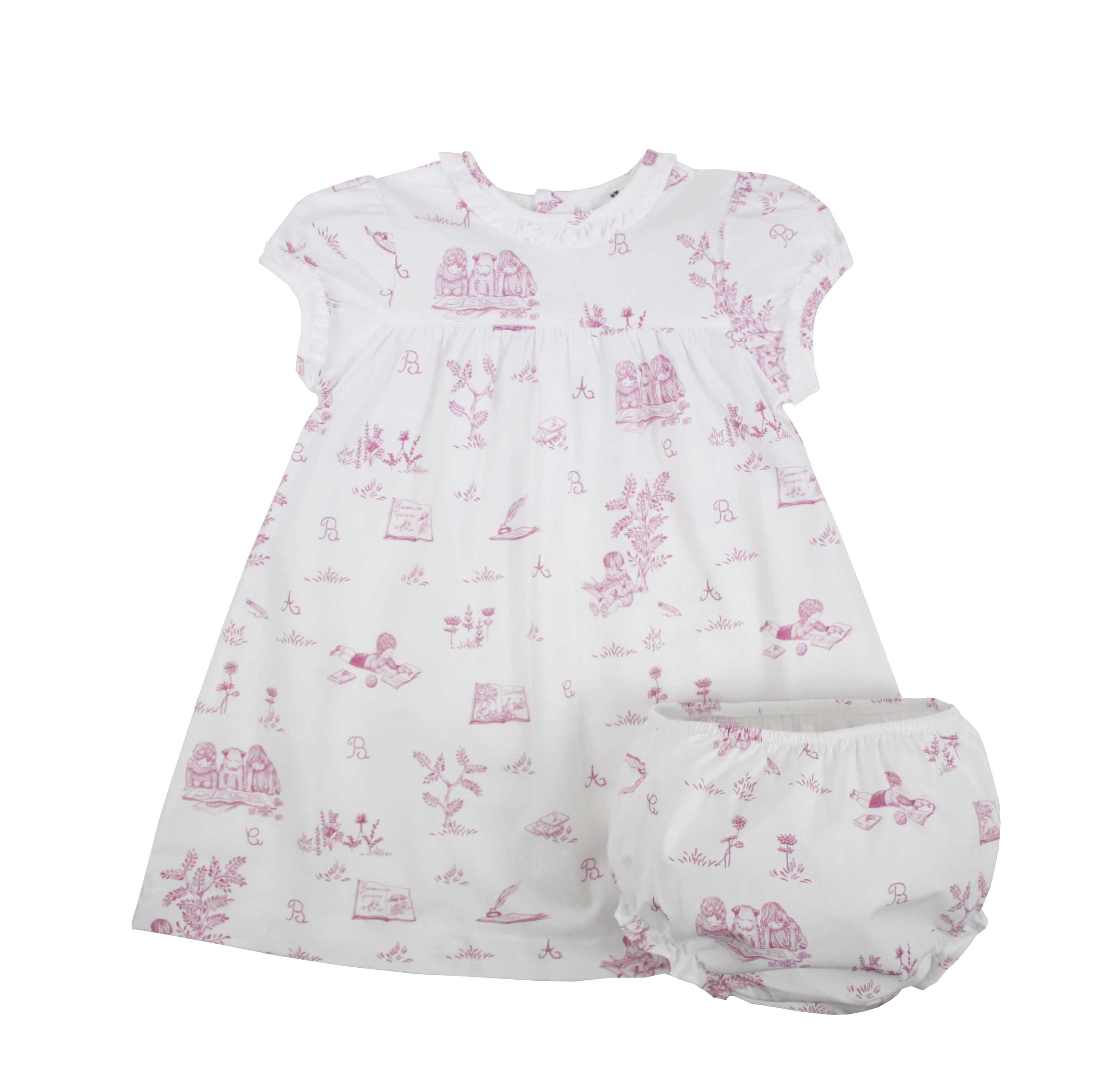 Girls' Clothing (0-24 Months) Outfits & Sets 6-9months. Girls Pink Short Dungarees
