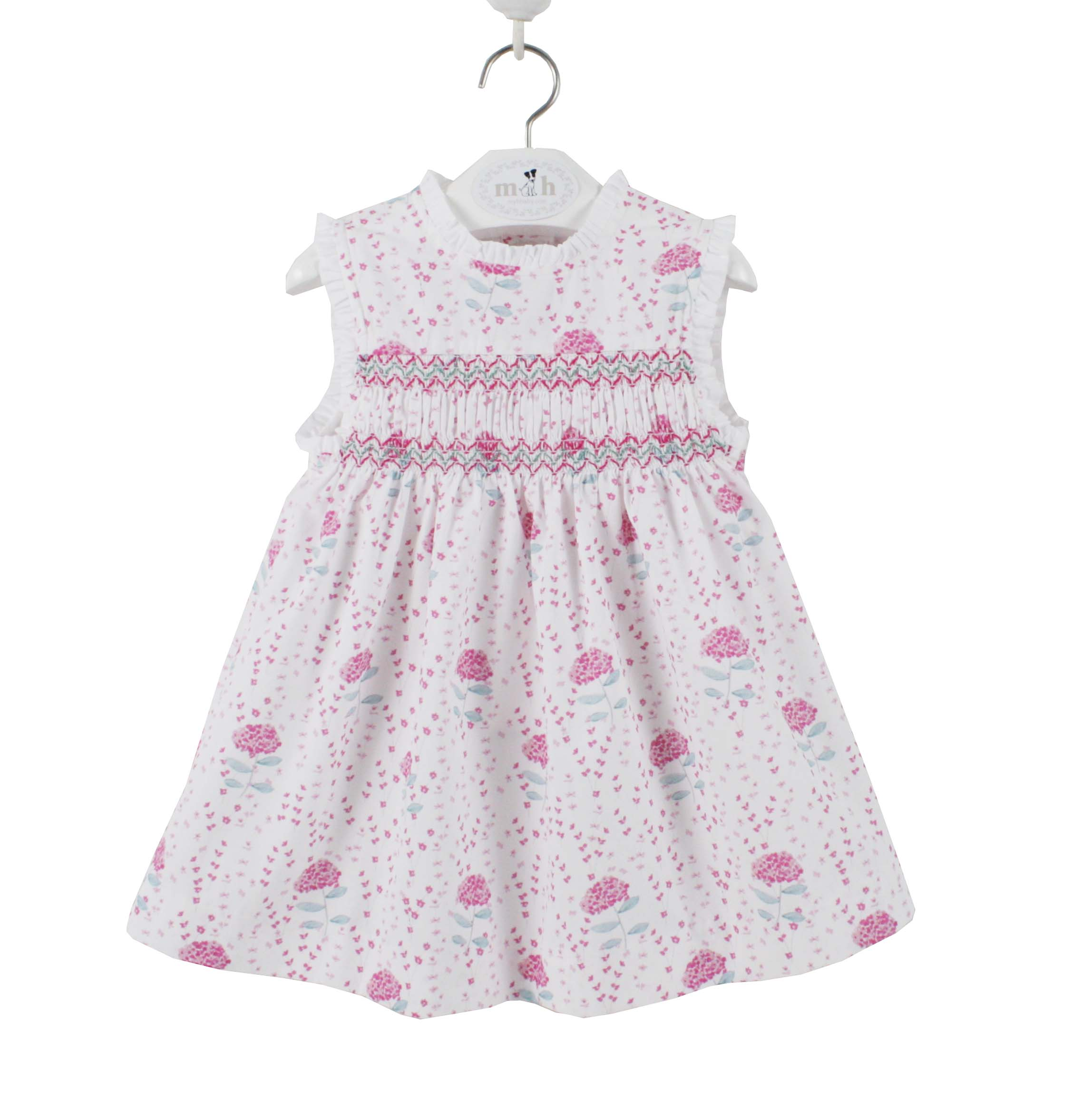 Girls Pink Short Dungarees 6-9months. Girls' Clothing (0-24 Months)