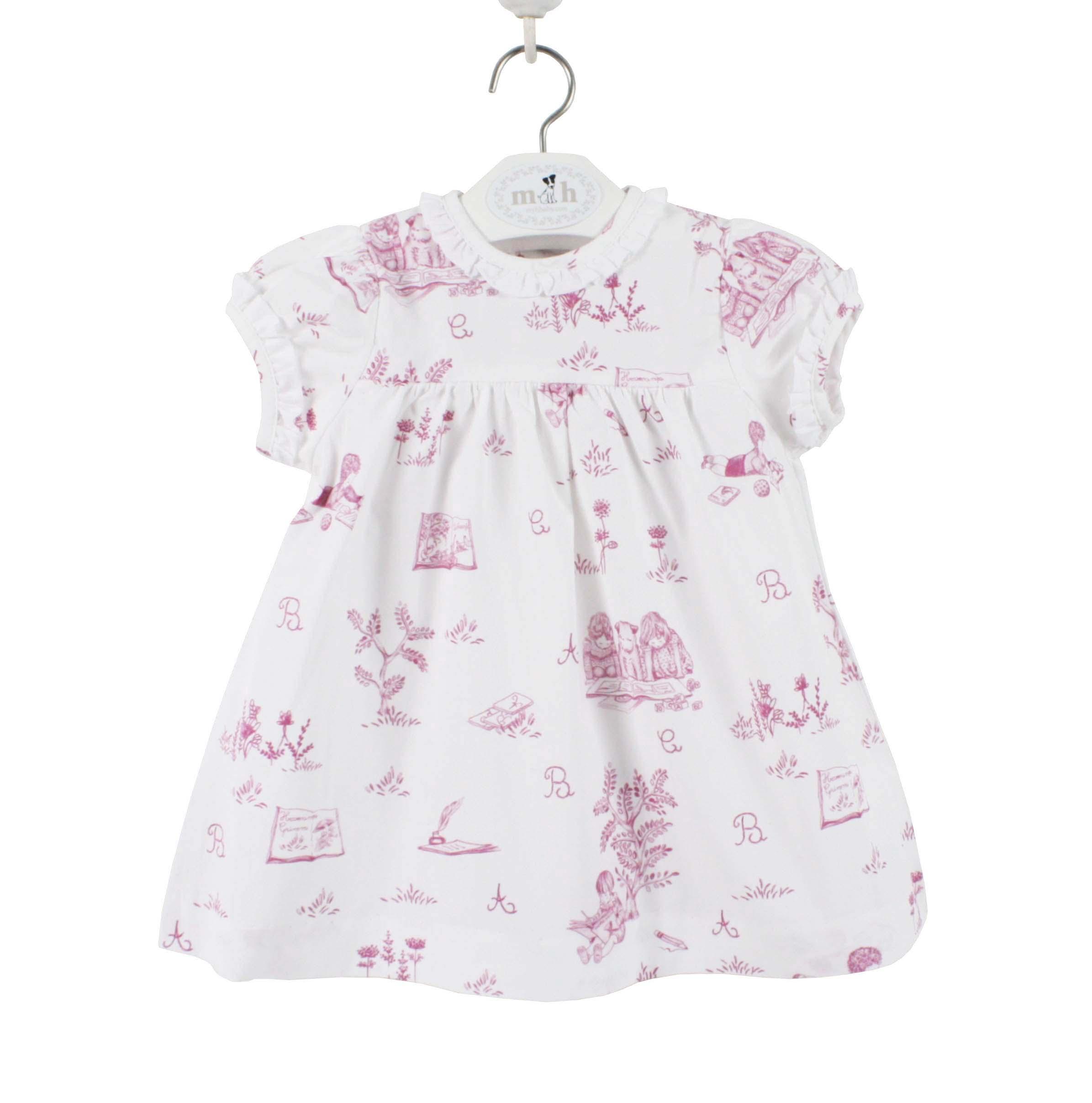 Girls' Clothing (0-24 Months) Girls Pink Short Dungarees 6-9months.