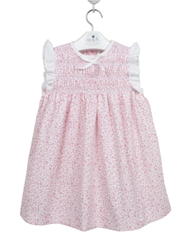 paloma dress pink and white