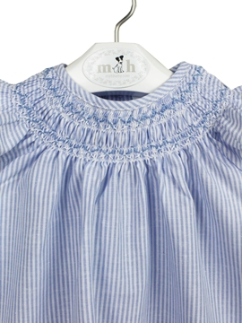 blue stripes salt dress