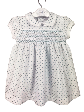 green dots valentina dress